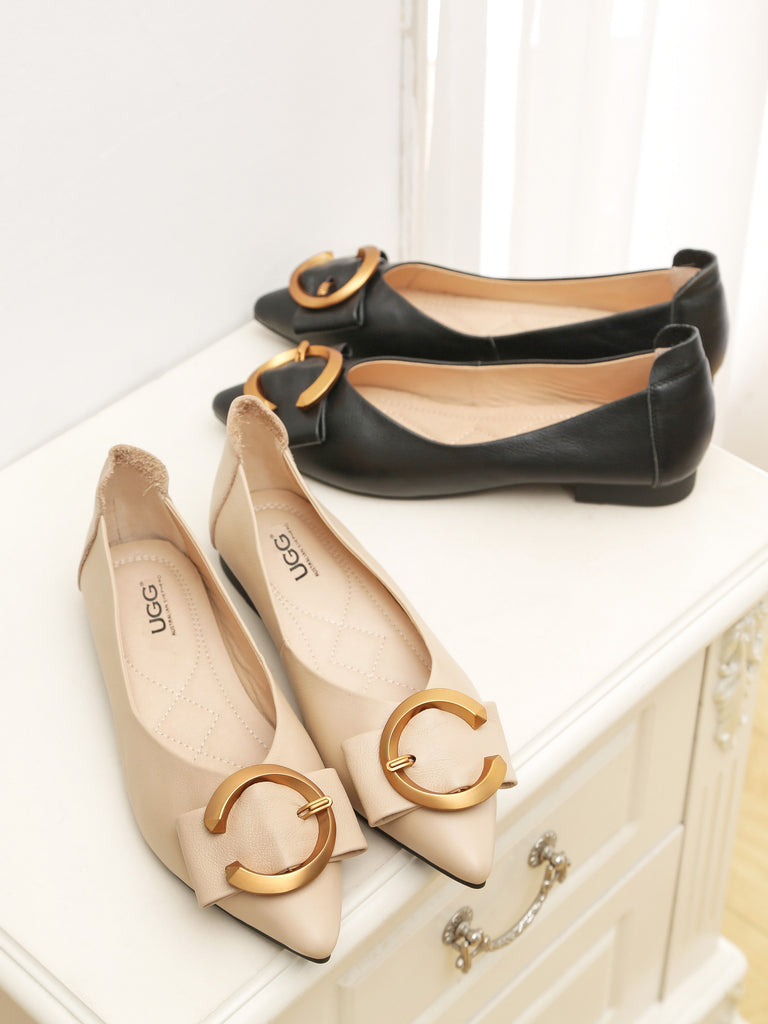 pointed toe flats for mum