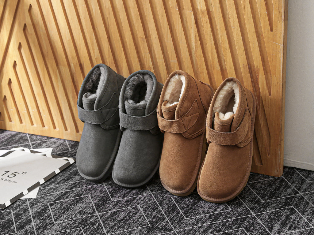 sheeps wool boots for men