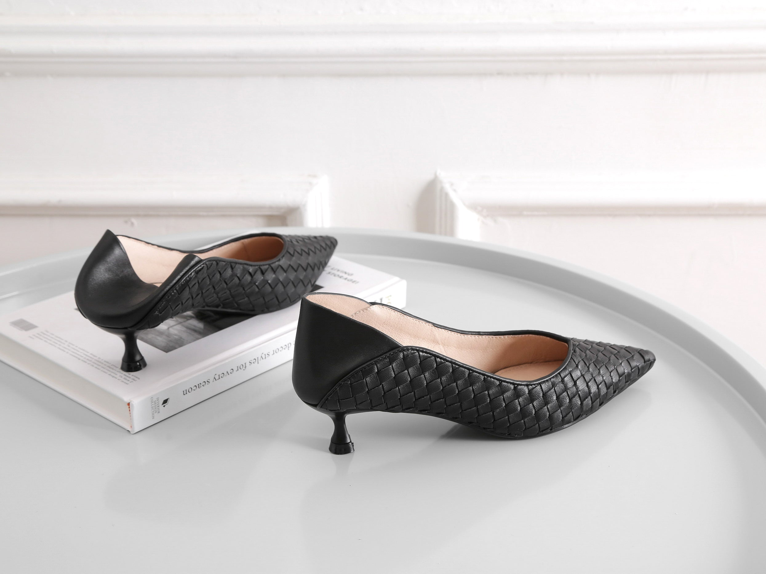 kitten heels for summer and spring style