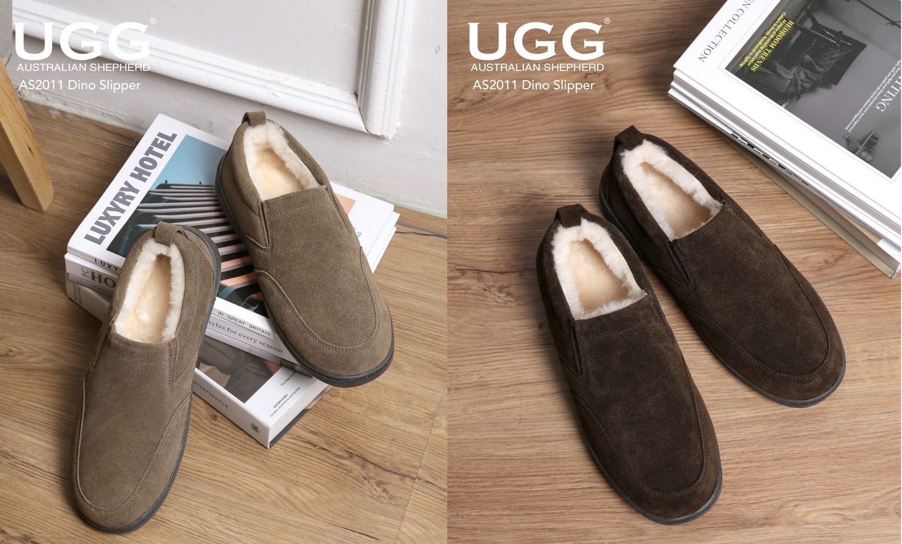 mens suede slippers