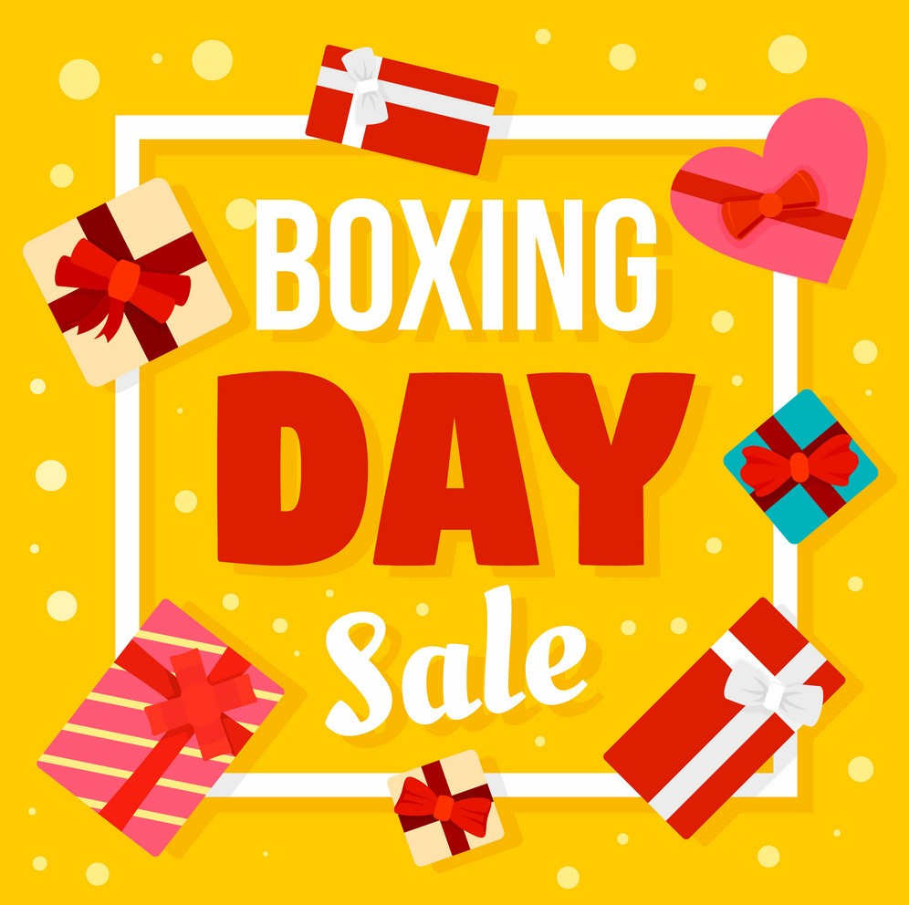 boxing day sale promotion