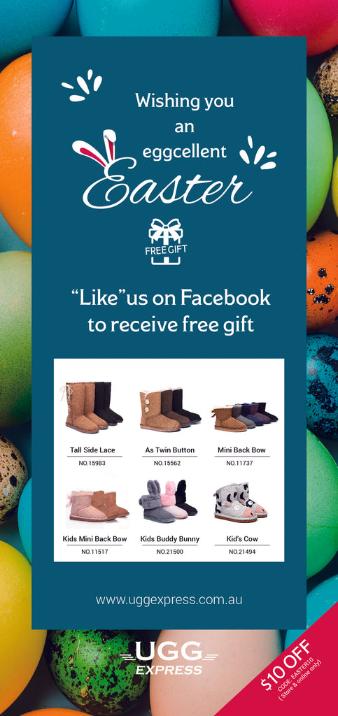 Ugg Express Easter Voucher