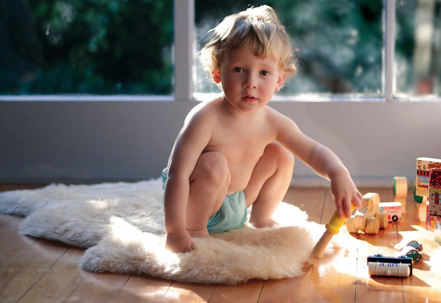 sheeps wool play mat for toddlers