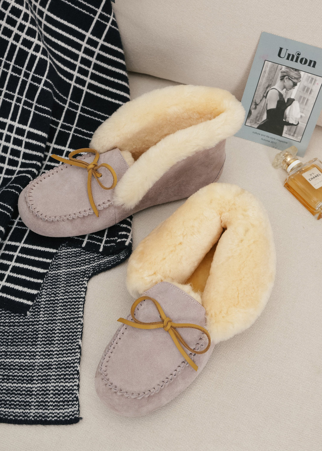 shirley sheepskin moccasins