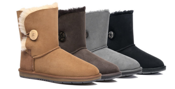 ugg express ugg boots in brown, grey and black