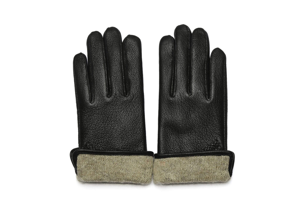 Accessories - Sheepskin Wool Ladies Leather Gloves Britney