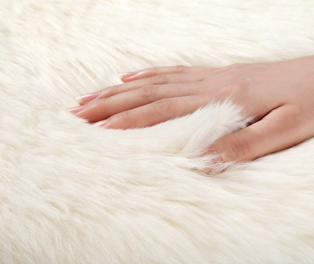 Accessories - TA Premium Australian Sheepskin Single Long Wool Rugs 115cm