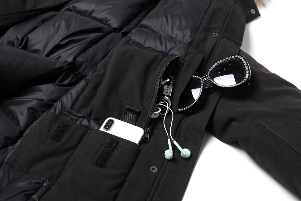TA Men All In One Functional Down Jacket