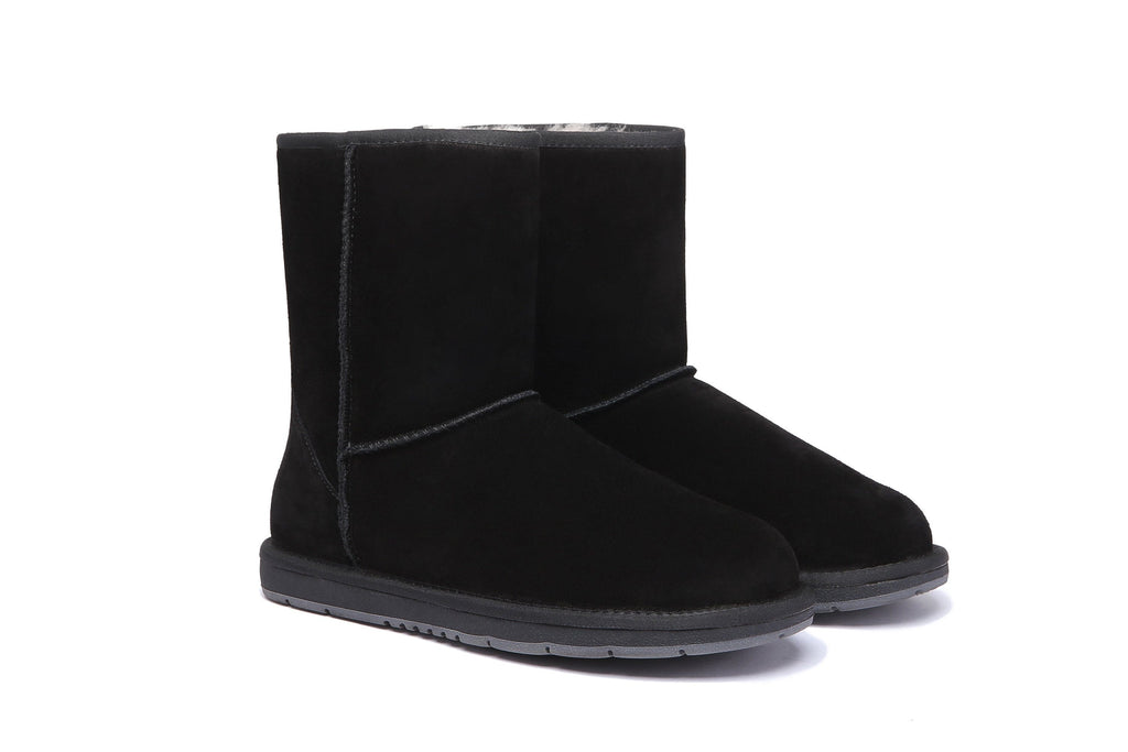 Boots - AS UGG Boots Unisex Short Classic Suede #15810 (11754986899)