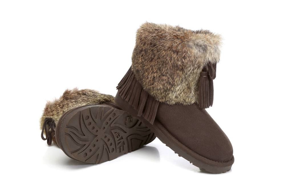 Boots - Ever UGG Boots Foxy With Tassel #11878 (43561943059)