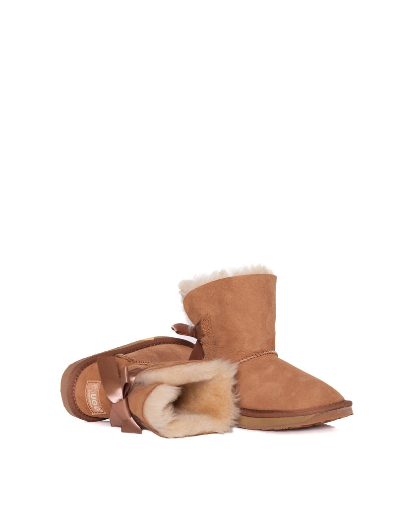 Boots - Ever UGG Kids Mini Back Bow #11517 (526824865850)