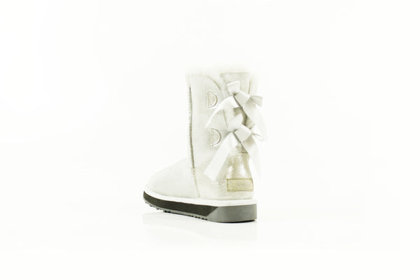 Boots - Ever UGG Ladies Bailey Bow Short Classic Glitter Boots #11840