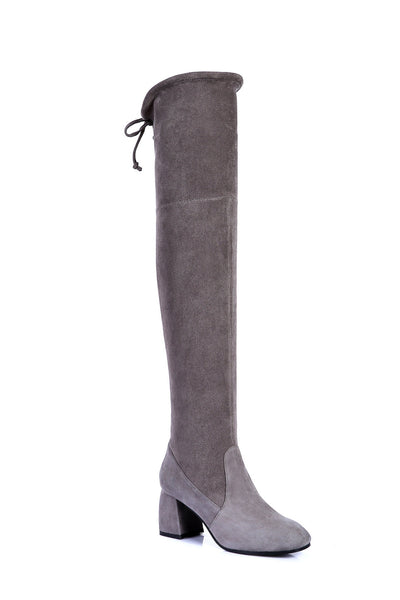 Boots - Ever UGG Ladies Fashion Heeled Over The Knee Tall Boots Selina #211000