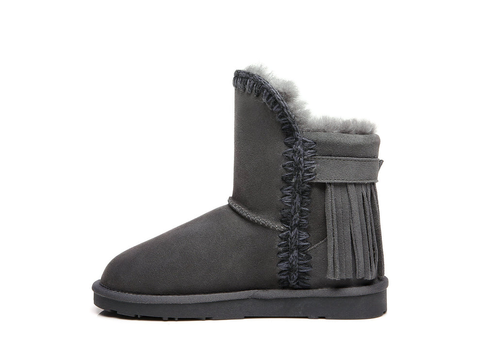 Boots - Ever UGG Ladies Short Boots Hannah #111007 (1878337093690)