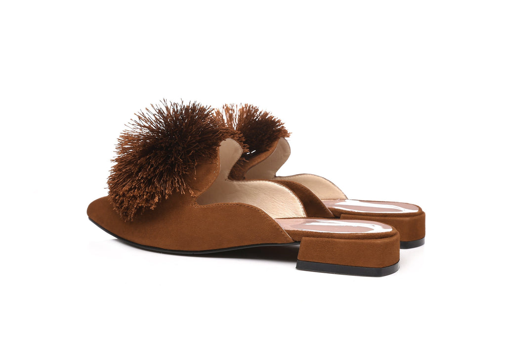 Fashion - Ever UGG Pom Pom Summer Slide Lauren #21551