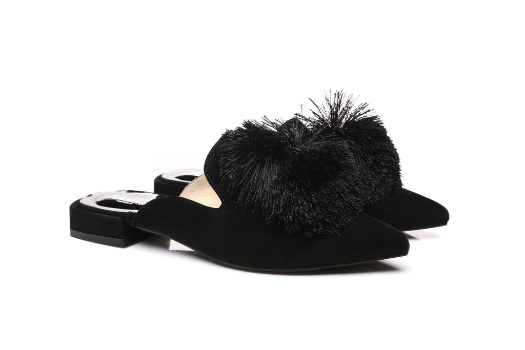 Ever UGG Pom Pom Summer Slide Lauren #21551