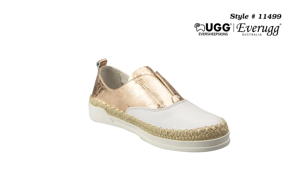 Kids Shoes - Ever UGG Brilliant Kids Leather Shell #11498 (12799246355)