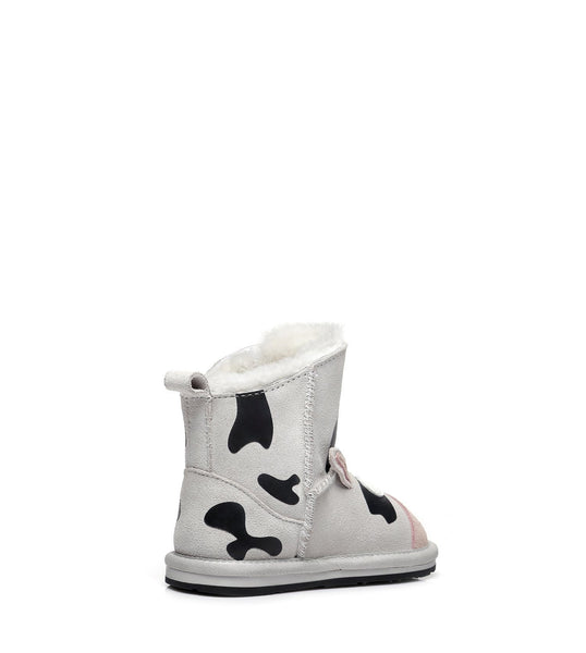 Kids Shoes - Ever UGG Cow Toddler #21434