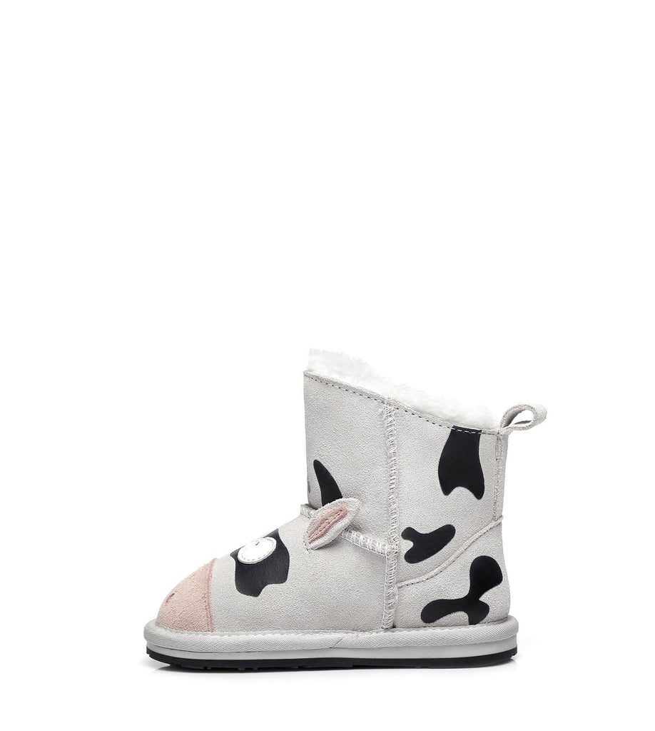 Kids Shoes - Ever UGG Cow Toddler #21434 (2128198041658)
