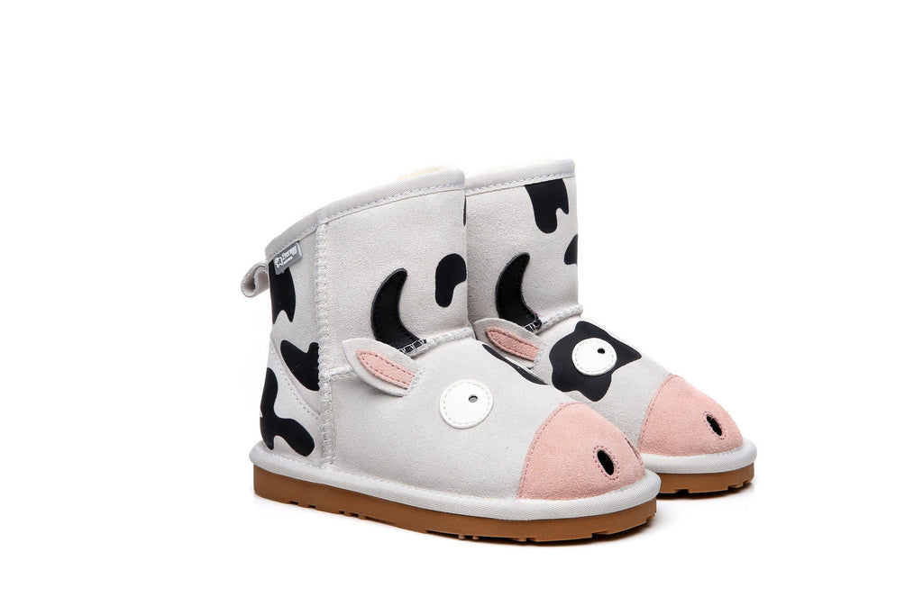 Ever UGG Kids Boots Cow #21494 (192933888019)