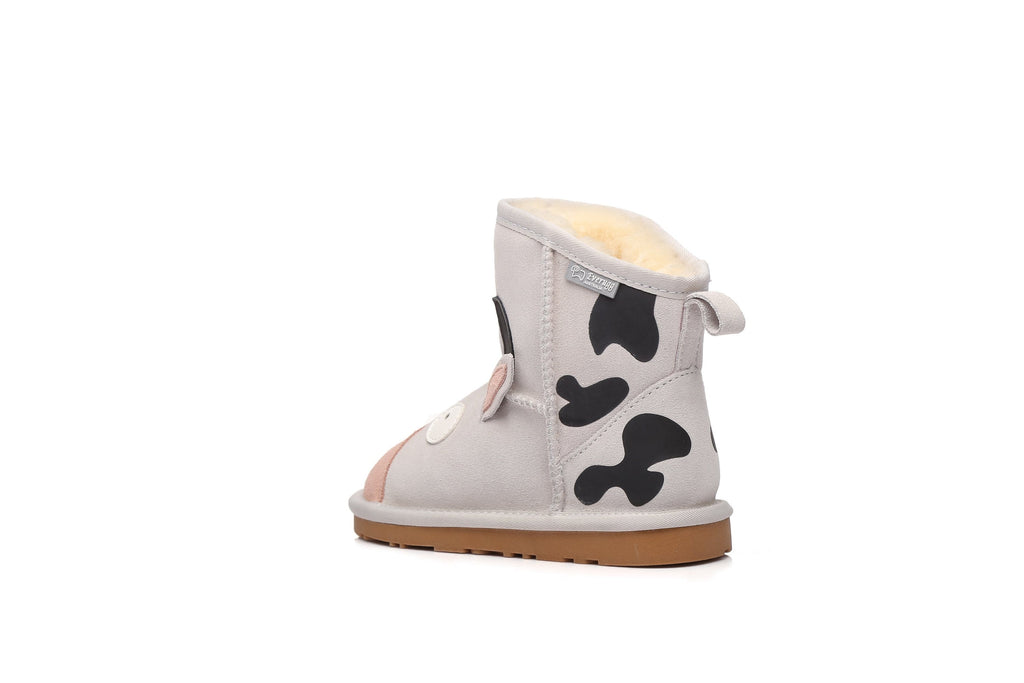 Kids Shoes - Ever UGG Kids Boots Cow #21494 (192933888019)
