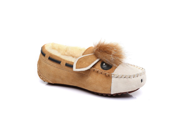 Kids Shoes - Ever UGG Kids Pony Moccasin #21497