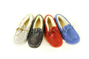 Moccasin - Ever UGG Lizard Moccasin Flats #SP11652