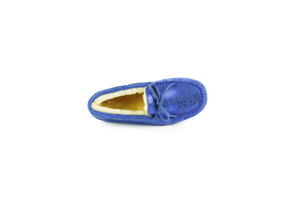 Moccasin - Ever UGG Lizard Moccasin Flats #SP11652 (39658061843)