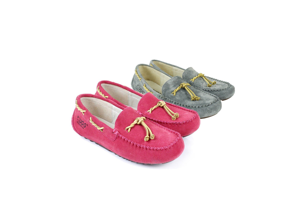 Ever UGG  Twist Lace Summer Moccasins #11625