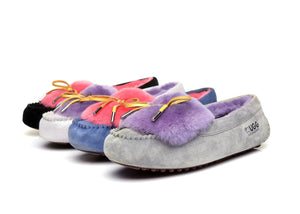 Moccasins - Ever UGG Ladies Fluffy Moccasin #11654