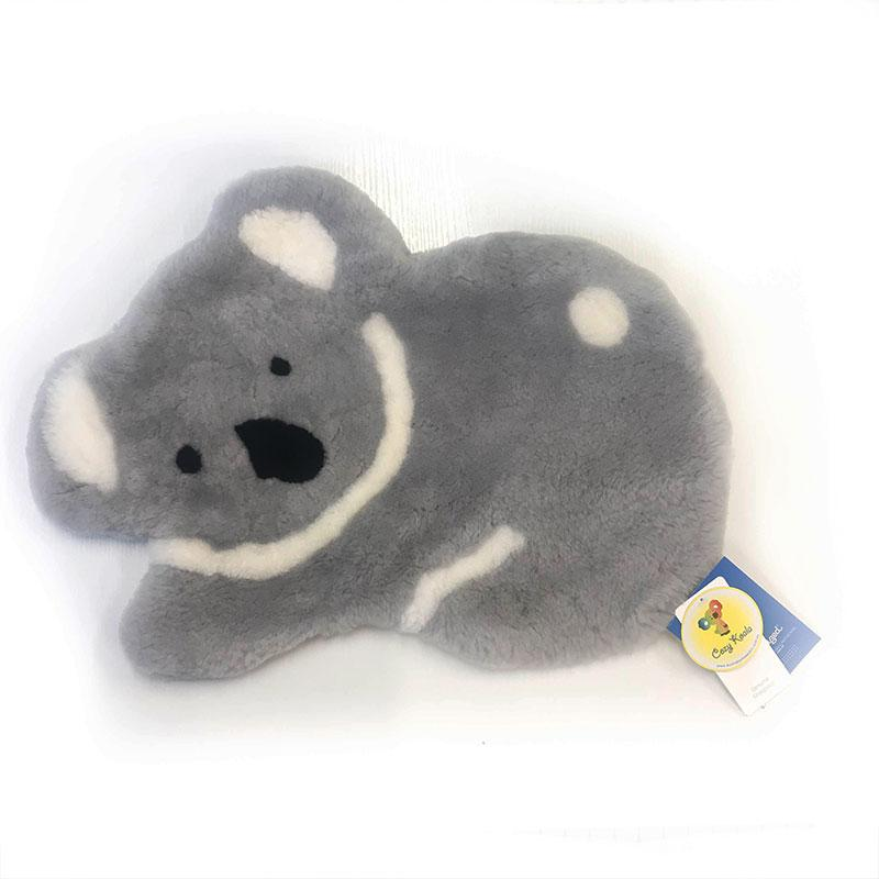 Others - Genuine Australian Sheepskin Soft Decoration Koala Rug - Grey