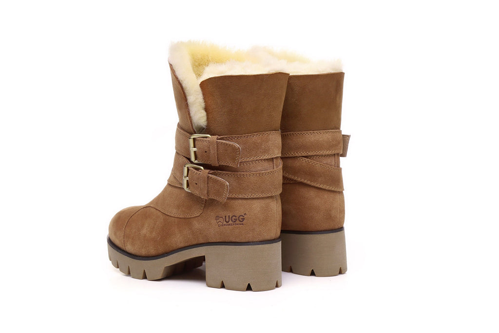 Ever UGG Boots Strap Buckle Melody #11747