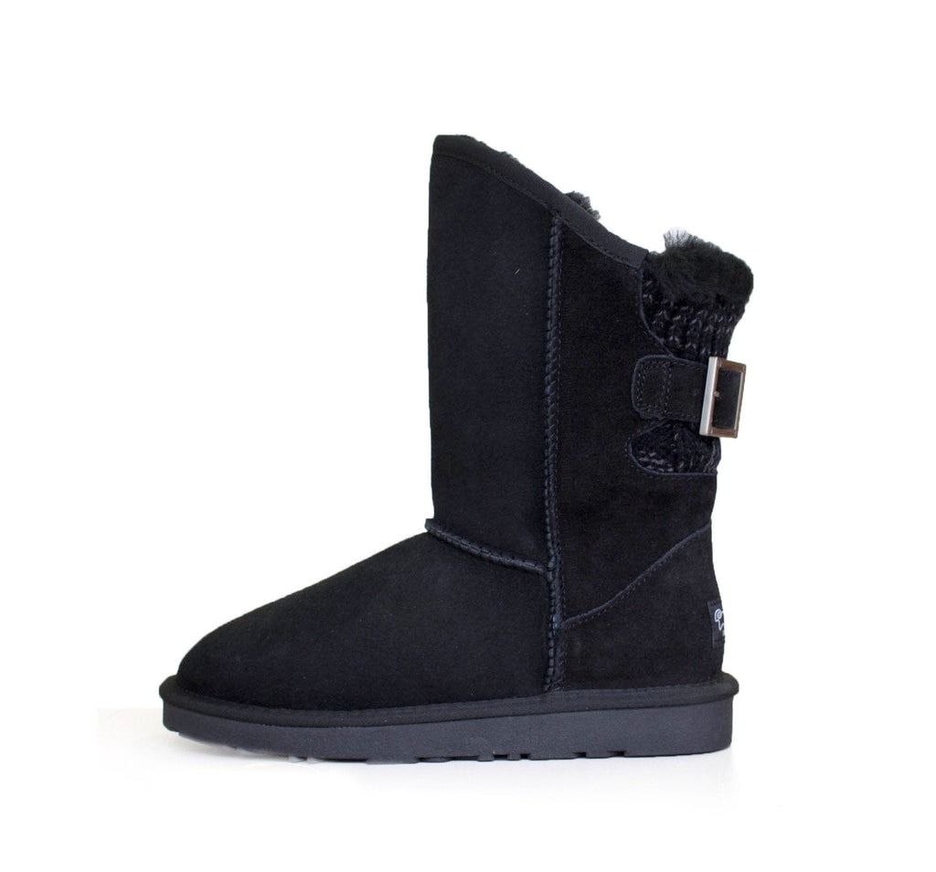 Shoes - Ever UGG Buckle Boots Juliet #11817