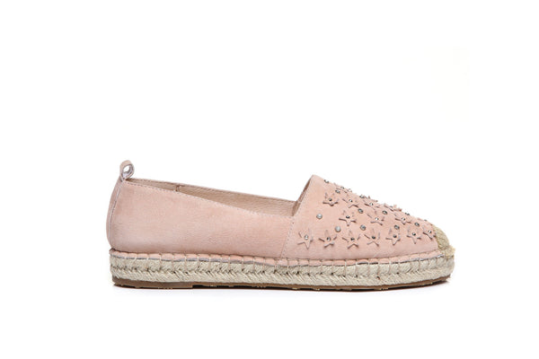 Shoes - Ever UGG Starry Ladies Rivet Star Flats Loafers #11683