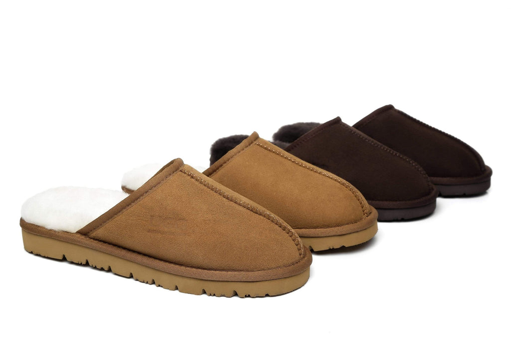 AS UGG Mens Slipper Scuff Mosley