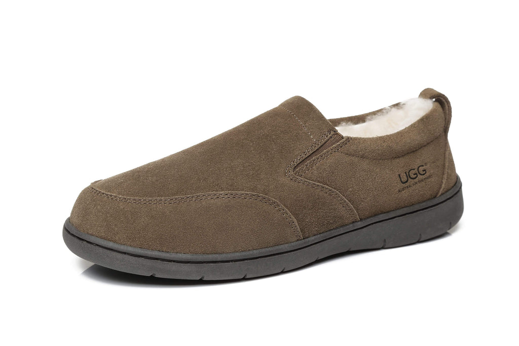 Slippers - AS Mens Ugg Moccasin Slippers Dino