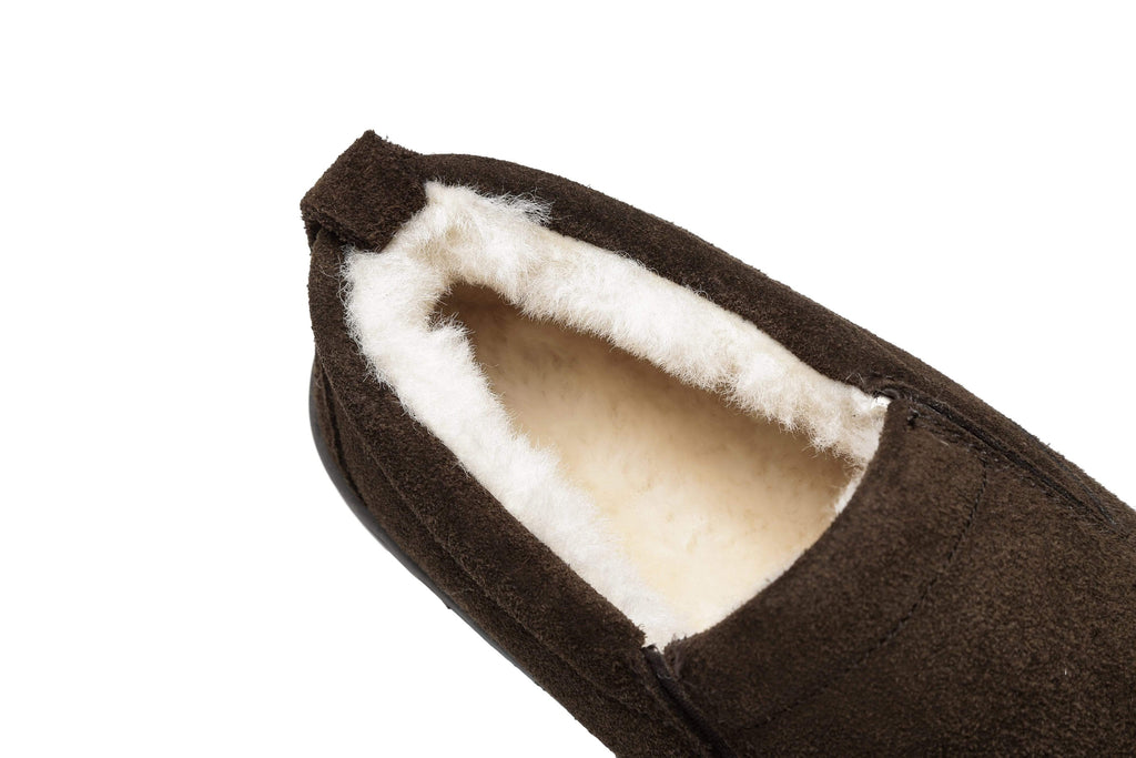 Slippers -AS Mens Ugg Moccasin Slippers Dino