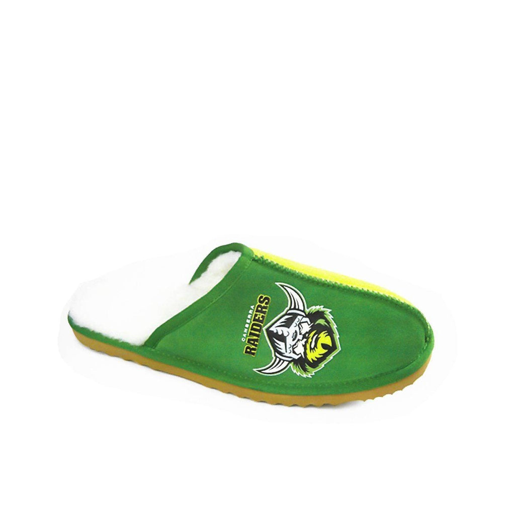 Slippers - NRL Official Licensed UGG Adult Unisex Slippers Canberra Raiders