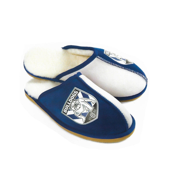 Slippers - NRL Official Licensed UGG Adult Unisex Slippers Canterbury Bulldogs