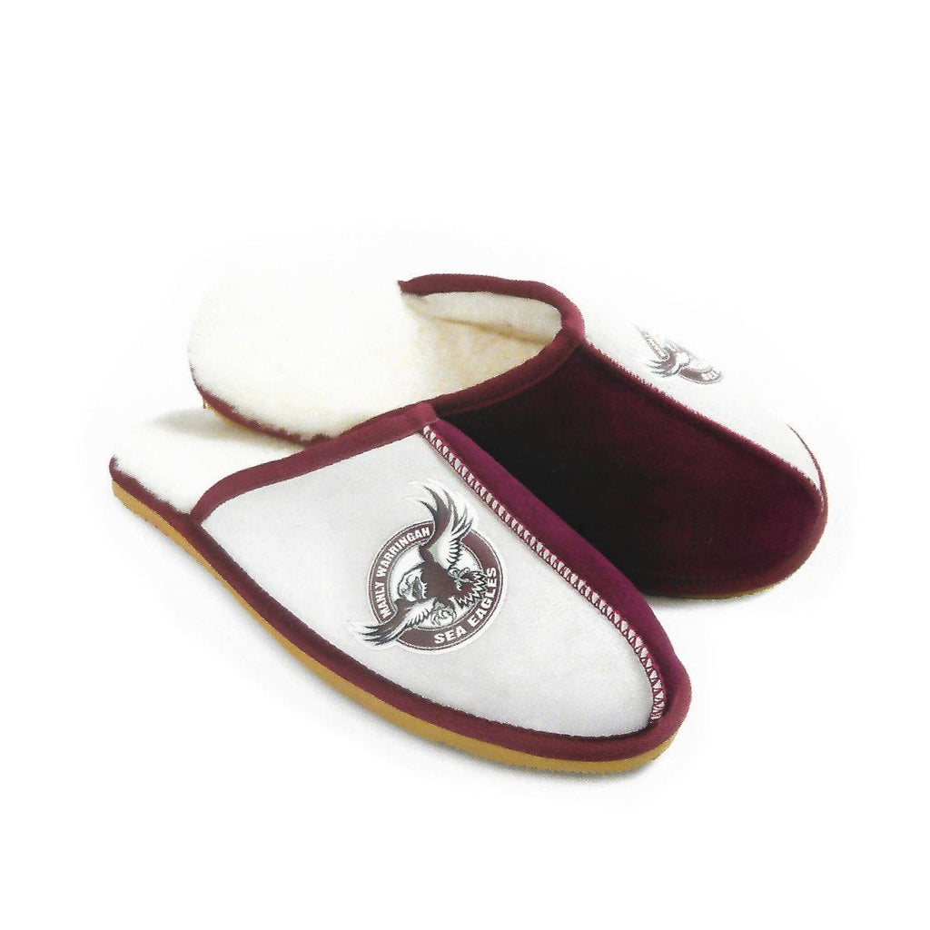 9d1aacccb83 NRL Official Licensed UGG Adult Unisex Slippers Manly-warringah Sea Eagles