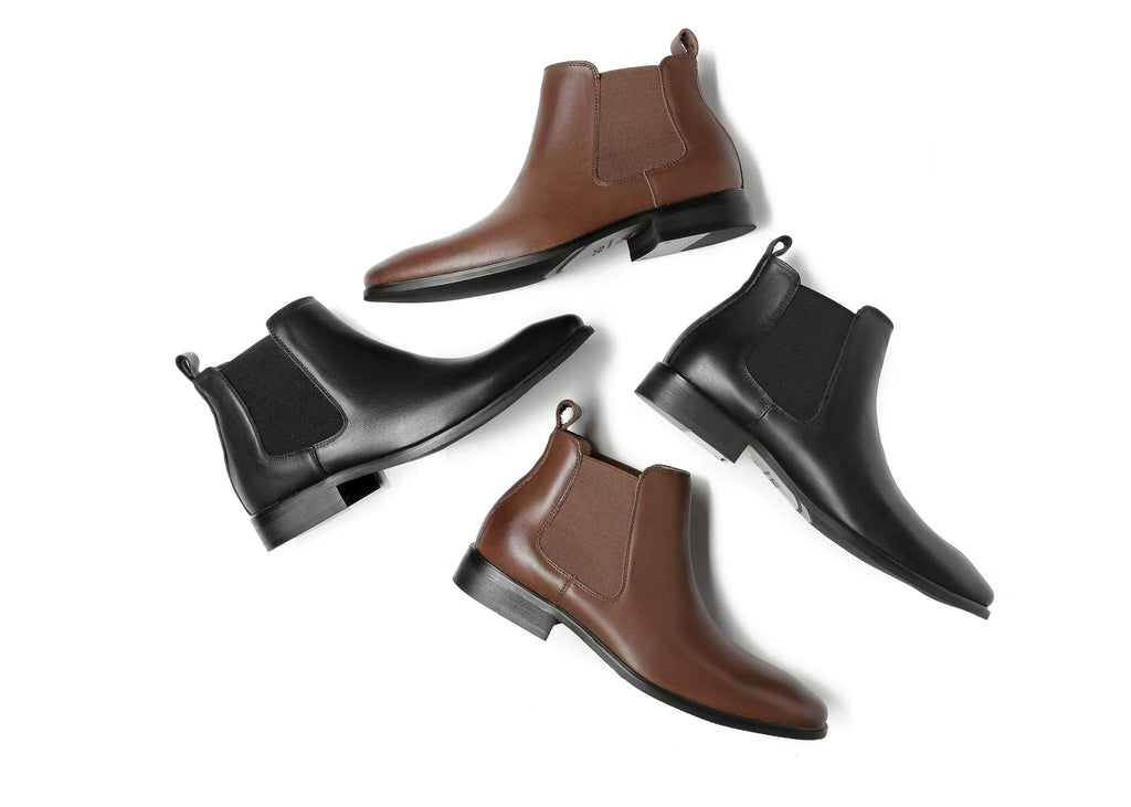 UGG Boots - AS Men's Casual Mini Leather Boots Jeremy