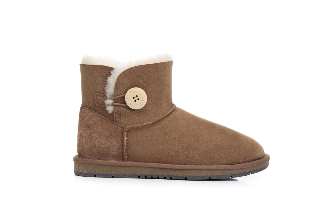 UGG Boots - AS Mini Button UGG Boots  #15702 (7188435015)