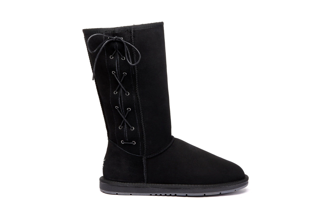 UGG Boots - AS UGG Boots Tall Side Lace Up #15983 (10762415635)