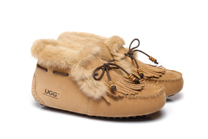 AS UGG High Top Ladies Tassel Suna Moccasin