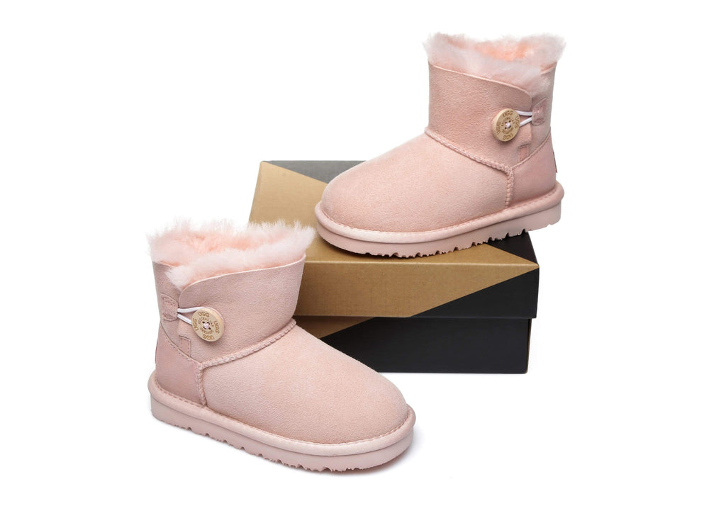 UGG Boots - AS UGG Kids Mini Button Boots