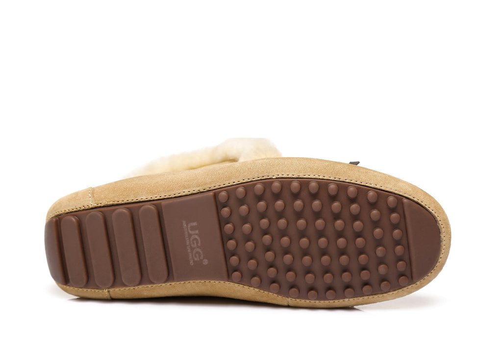 AS UGG Women Collar Shirley Moccasin (2525192650810)