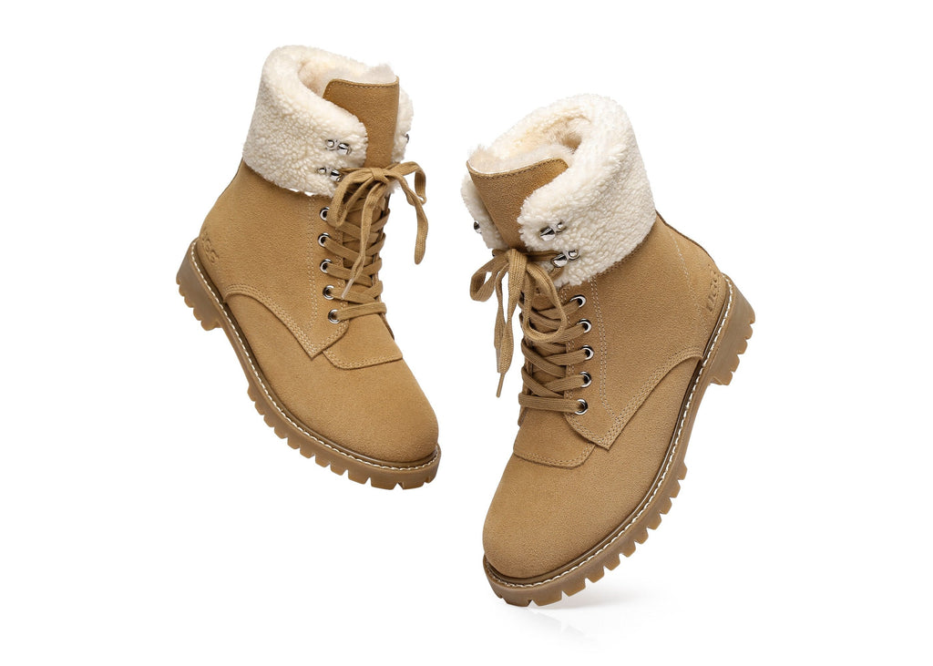AS UGG Ladies Fashion Boots Mina