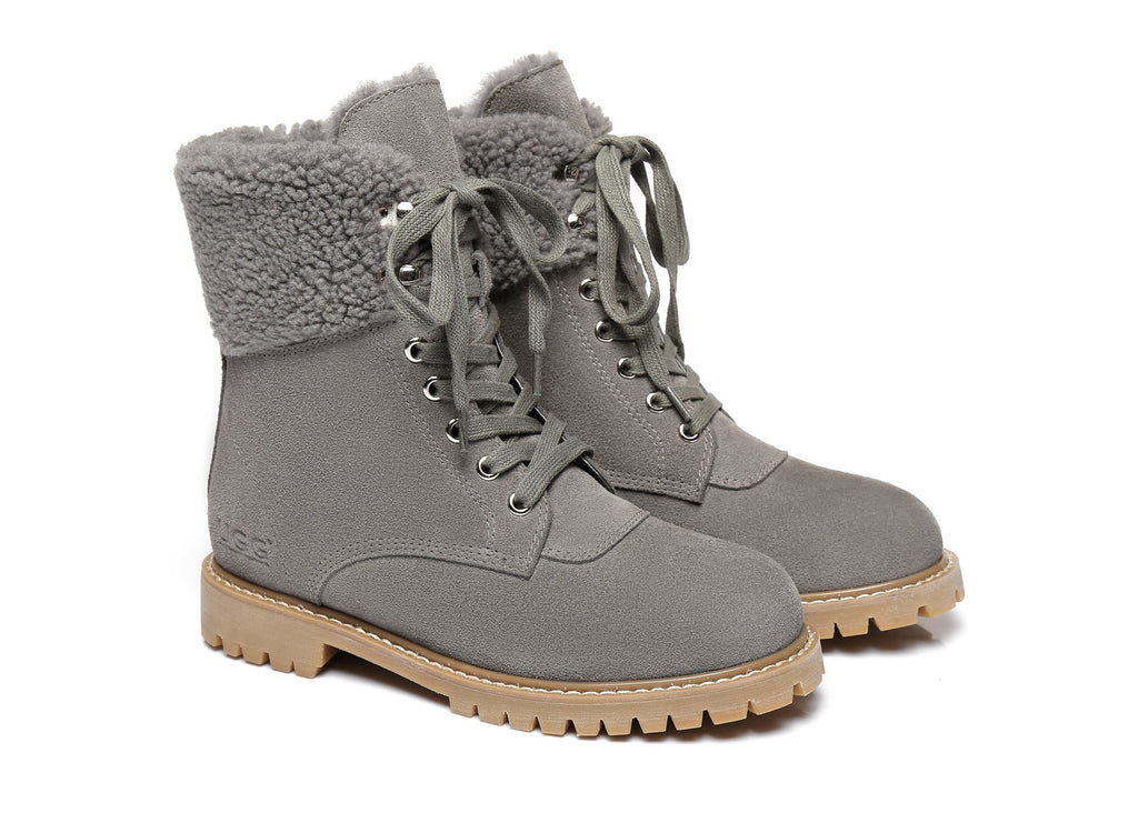 AS UGG Women Fashion Chunky Boots Mina (2525185605690)