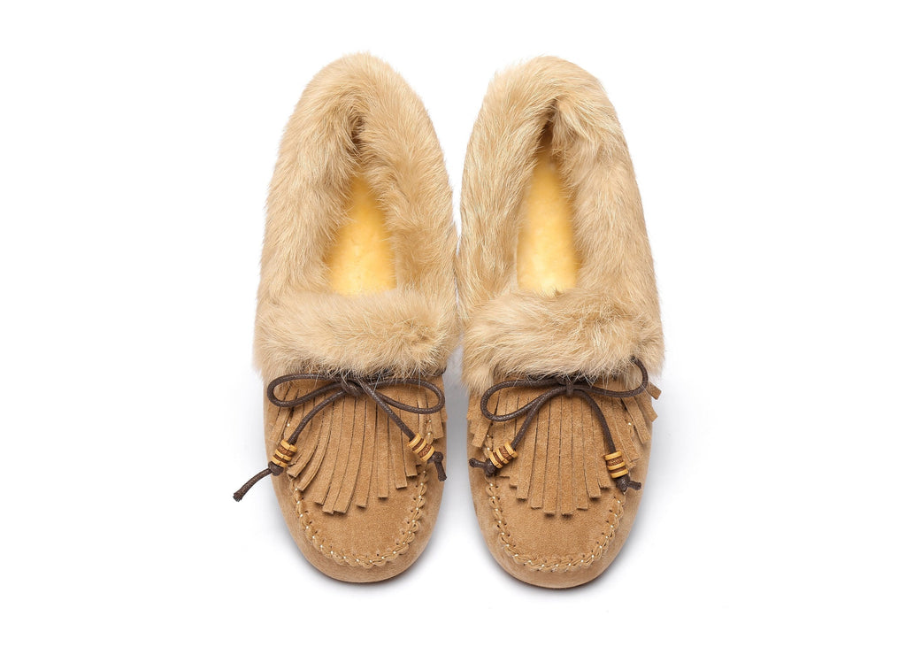 AS UGG Ladies Tassel Sule Moccasin