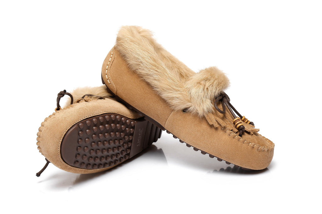 AS UGG Ladies Tassel Sule Moccasin (2525189767226)
